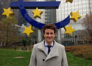 Jannick Blaschke works at the European Central Bank (ECB).