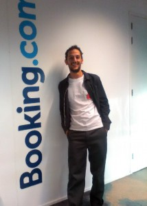 Ilias Pasidis works now at Booking.com
