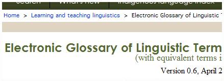 Glossari de termes fonètics, fonològics i lingüístics