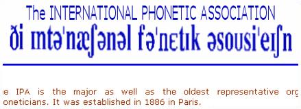 Fonts fonètiques i taules (IPA)
