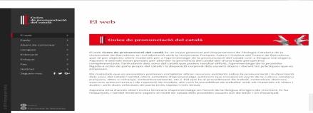 Guies de pronunciació del català