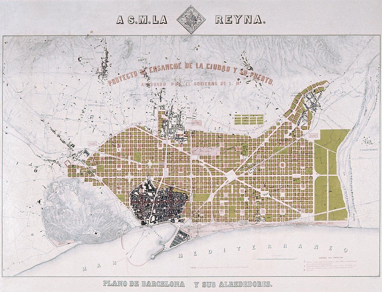 Plano Del Proyecto Cerda Visita Virtual Del Edificio Historico