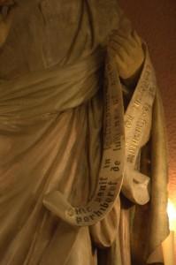 San Juan Evangelista, detalle