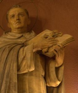 Sant Tomàs d'Aquino, detall