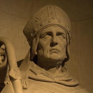 Sant Isidor de Sevilla, detall
