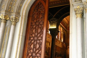 Puerta de entrada al Paraninfo