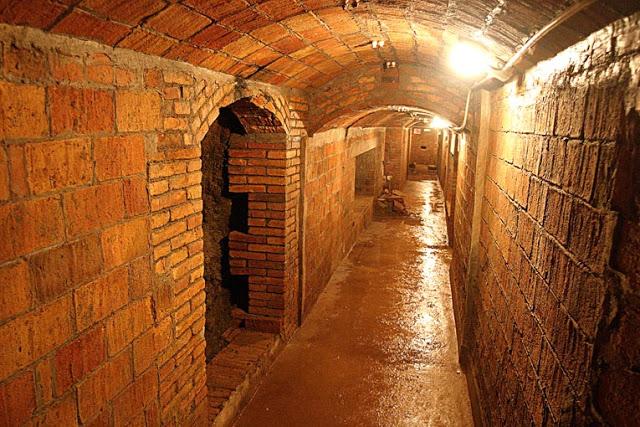 Interior del refugi de Diamant