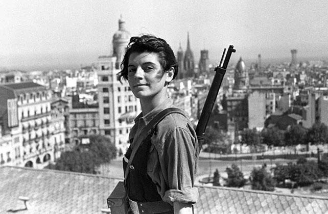 La miliciana Marina Ginestà (1919-2014)