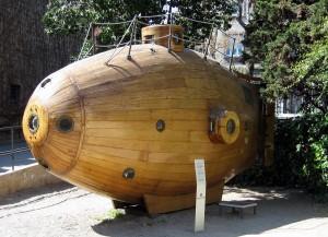 Rèplica del submarí Ictineu I