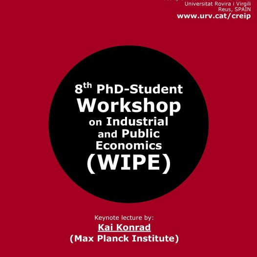 8th PdD-Student Worksop on Industrial and Public Economics (WIPE)