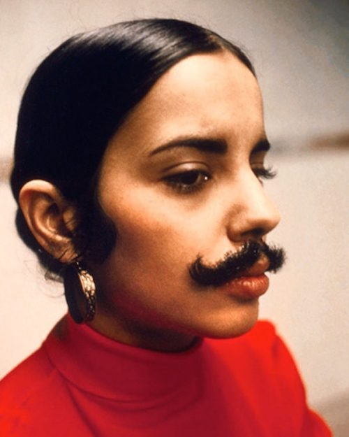 Facial Hair. Ana Mendieta