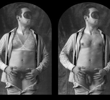 Stereoscopic Self-Portrait. Guillermo Valverde