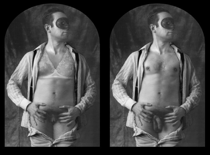 Stereoscopic Self-Portrait. Guillermo Valverde