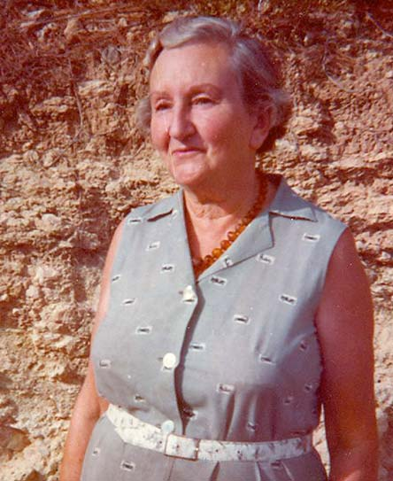 Celia Topp en Ibiza, 1976. Foto de Fernando Bertazioli. Archivos Topp