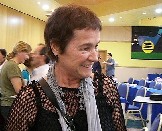 La arqueóloga María de los Ángeles Querol