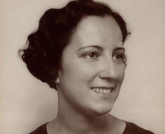 Olimpia Arozena. Archivo personal de la familia Arozena, cedida por la Unitat d'Igualtat de la Universitat de València.