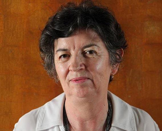 La pionera de la arqueología Ángela Franco Mata. Fotografía cedida por Ángela Franco