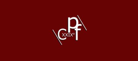 Logo CPF 2021, 29e Congrès Préhistorique de la France