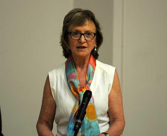La arqueóloga Carmen Aranegui Gascó