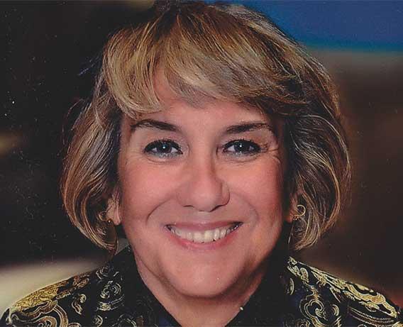 Retrato de la arqueóloga Pilar Fernández Uriel
