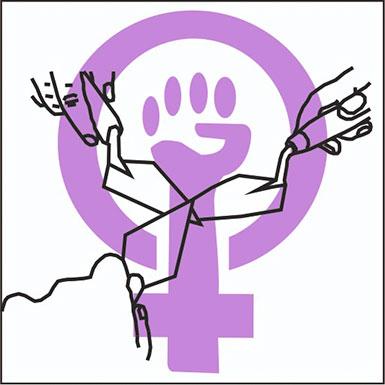 Logo Arqueólogas Feminisitas