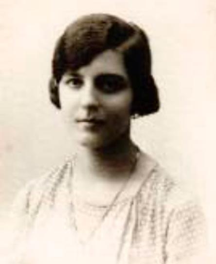 María Luisa Galván Cabrerizo, 1928 © Archivo General de la Universidad Complutense de Madrid