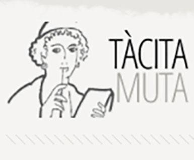 Logo Tàcita Muta (Grup d'Estudis de Dones i Gènere a l'Antiguitat)