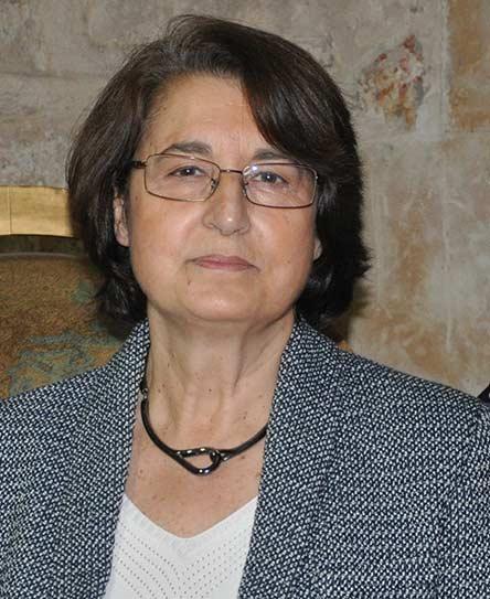 María Soledad Corchón Rodríguez en la Facultad de Geografía e Historia de la Universidad de Salamanca (2017)