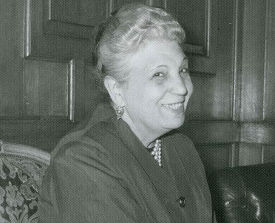 Pilar Fernández Vega. Archivo del Museo Nacional de Artes Decorativas (archivo personal de María Dolores Enríquez Arranz)