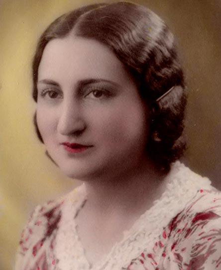 Ursicina Martínez Gallego, 1933 © Archivo Primo Martínez