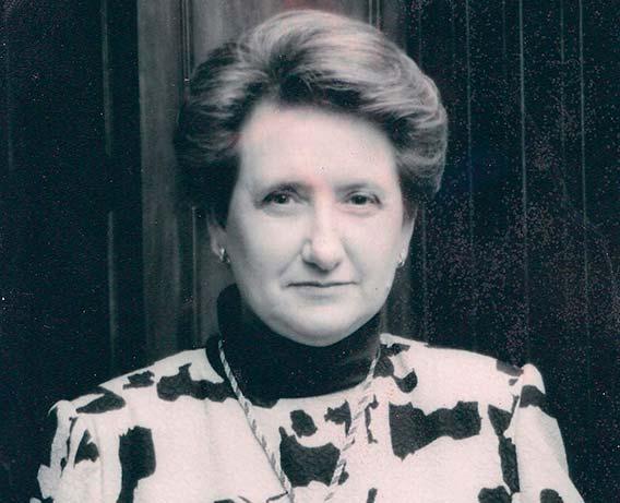 Carmen Trapote en 1988