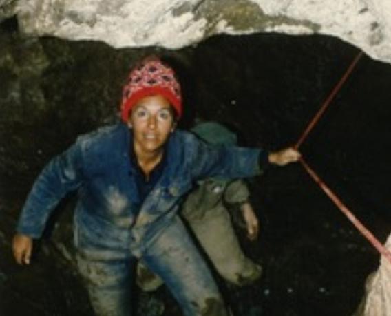 La arqueóloga Dolores Echaide Itarte. Foto: Ana Echaide