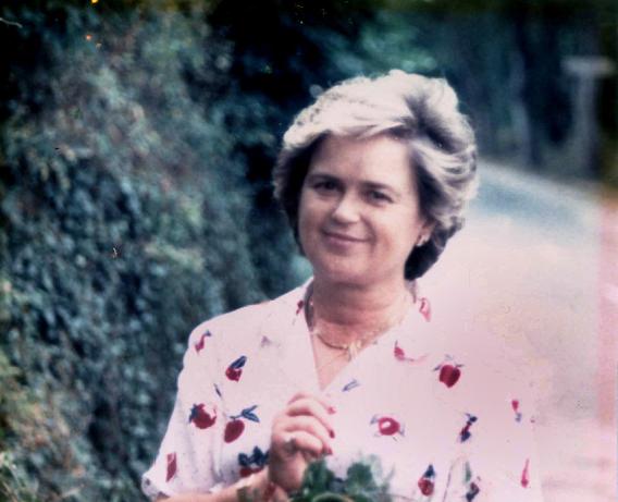 La arqueóloga María Valentina Calleja González. Fotografía del Instituto Tello Téllez de Meneses