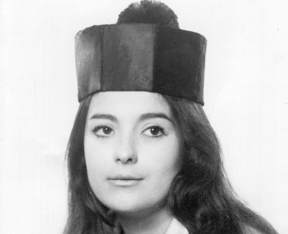 Retrato de Maria Lluïsa Pericot Raurich. Fondo familia Fullola-Pericot.