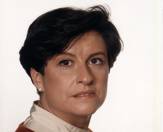 La arqueóloga María Ángeles Alonso