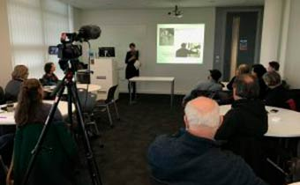 """Lecture on """"Sounds & The Sacred in Rock Art Soundscapes"""" at Bath Spa University, UK"""