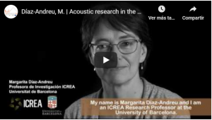 Video on the acoustic research undertaken in the
