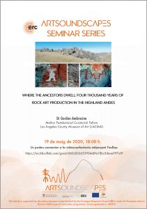 """Where the ancestors dwell: four thousand years of rock art production in the highland Andes"" – Gordon Ambrosino, Mellon Postdoctoral Curatorial Fellow, Los Angeles County Museum of Art (LACMA), United States"