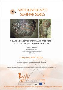 """The archaeology of dreams: An introduction to south-central California rock art"" – David Whitley (ASM Affiliates, California)"