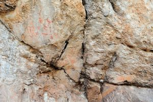 """Fingerprints help identify age and sex of prehistoric painters in southern Spain. Researchers studied the Neolithic rock art in the Los Machos rockshelter"""