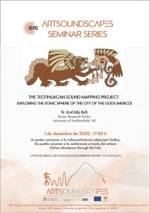 """""""The Teotihuacan Sound Mapping Project: exploring the sonic sphere of the City of the Gods (Mexico)"""""""