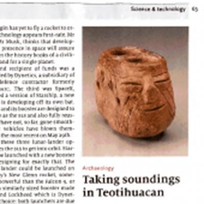 Taking soundings in Teotihuacan