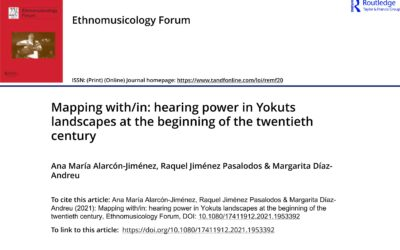 """""""Mapping with/in. Hearing Power in Yokuts Landscapes at the Beginning of the Twentieth Century"""""""