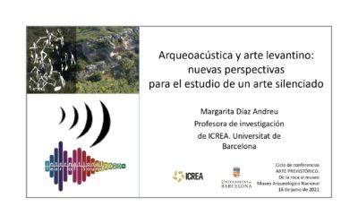 Arqueoacústica y arte levantino: nuevas perspectivas para el estudio de un arte silenciado