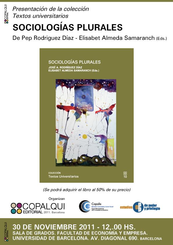 """Presentación del libro """"Sociologías  Plurales"""""""