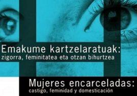 """Jornadas """"Mujeres encarceladas: castigo, feminidad y domesticación"""""""
