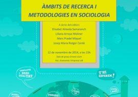 """(Català) Presentació a Barcelona del llibre """"Àmbits de recerca i metodologies en Sociologia"""""""