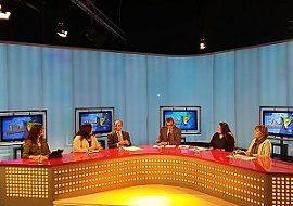 Núria Vergés participa a un programa de televisió sobre dones i tecnologies