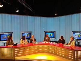 Núria Vergés participa en un programa de televisión sobre mujeres y tecnologías