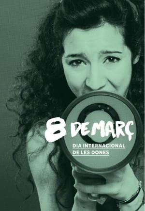 Celebració del 8 de març a Sant Boi de Llobregat
